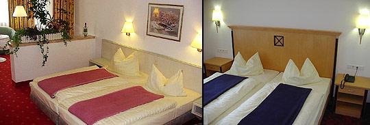 Ausstattung der Zimmer Hotel Haus am Park in Bad Hersfeld